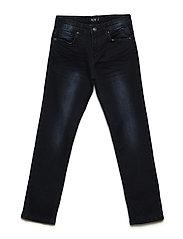 Jeans -Regular - DARK BLUE DENIM