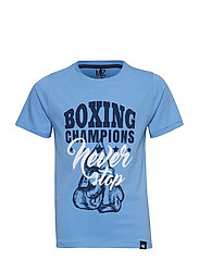T-shirt SS - LIGHT BLUE MELANGE