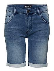 Shorts Sweat denim - BLUE DENIM