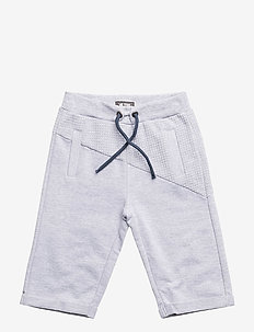 Shorts Long Sweat - Light Grey Melange