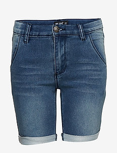 Shorts Sweat denim - BLUE DENIM