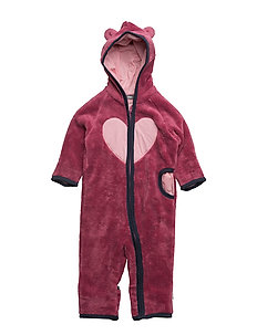 378 -Wholesuit Teddy - RED VIOLET