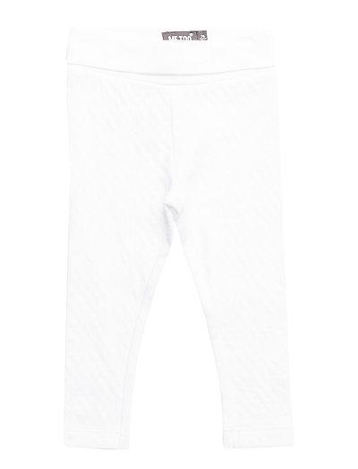 Leggings Needledrop - Bright White
