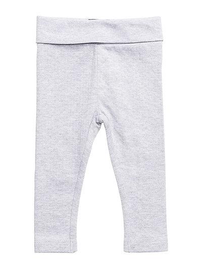 Leggings Needledrop - Light Grey Melange
