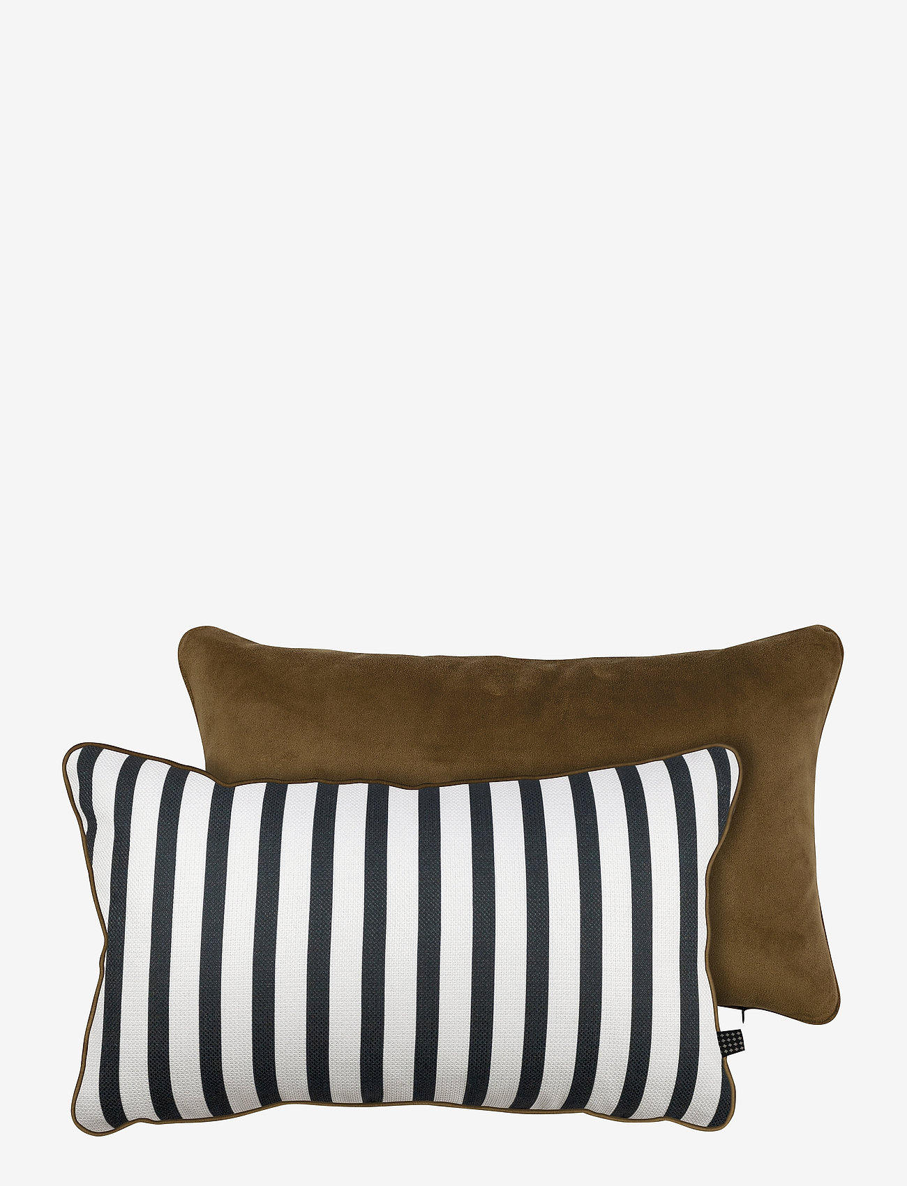 Mette Ditmer - ATELIER cushion, with filling - kuddar - stripe/tobacco - 0