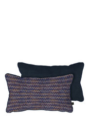 ATELIER cushion, with filling - CHEVRON/DARK BLUE