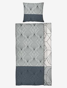 ART DECO Bed set - sengesæt - light grey