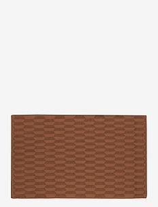 GEO Bath mat - badrumsmatta - rust
