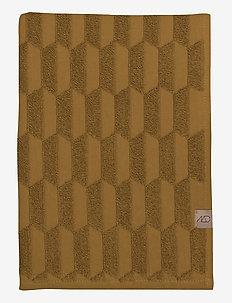 GEO  Guest towel, 2-pack - handdukar - curry