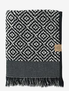 MOROCCO Towel - handdukar - black/white