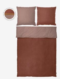 SHADES Bed set - sengesæt - rust