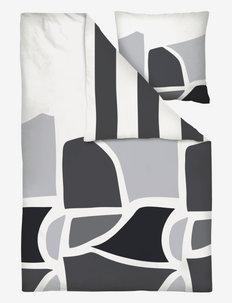 TERRA Bed set - sengesæt - dark grey