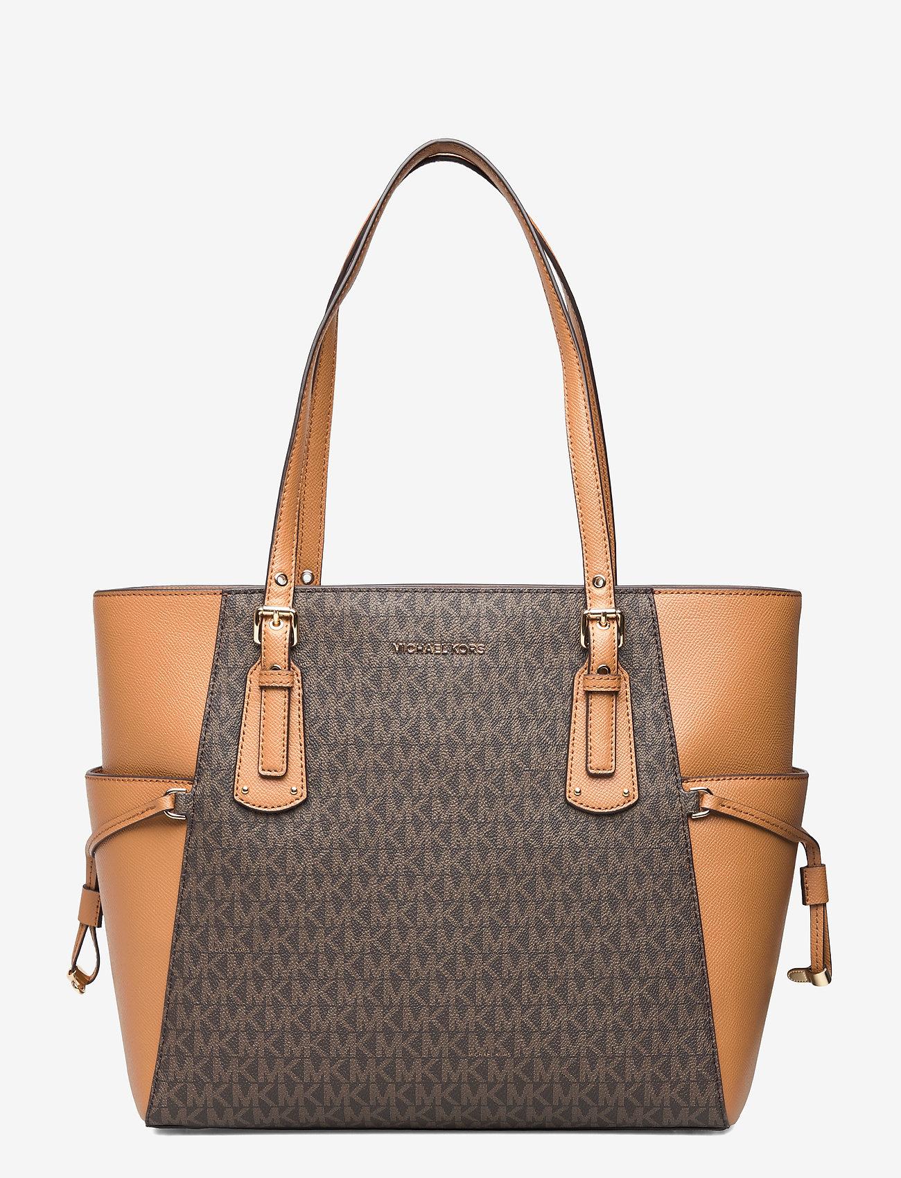 Michael Kors Bags - EW TOTE - fashion shoppers - brn/acorn