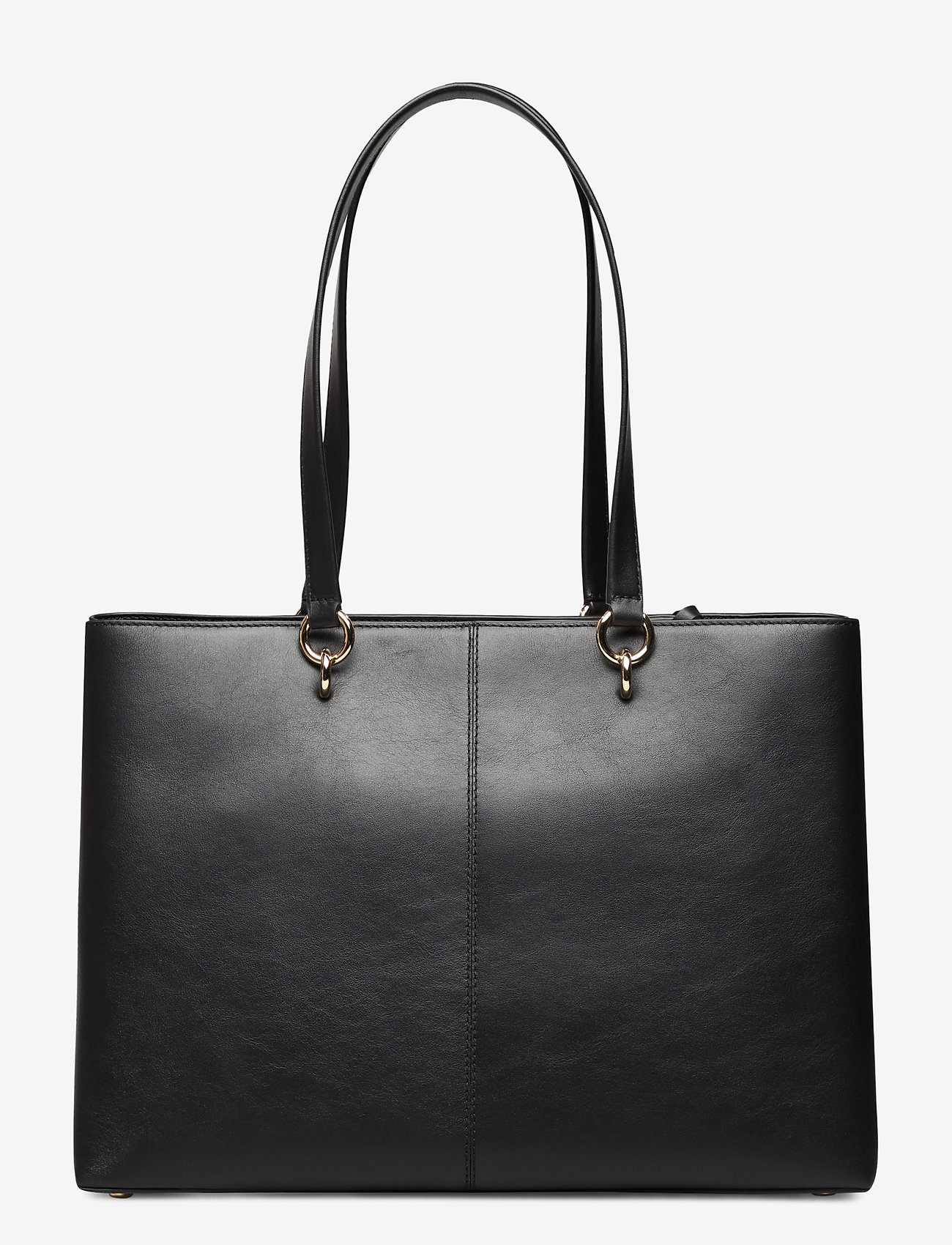 Michael Kors Bags - MD RBN CHN TOTE - fashion shoppers - black