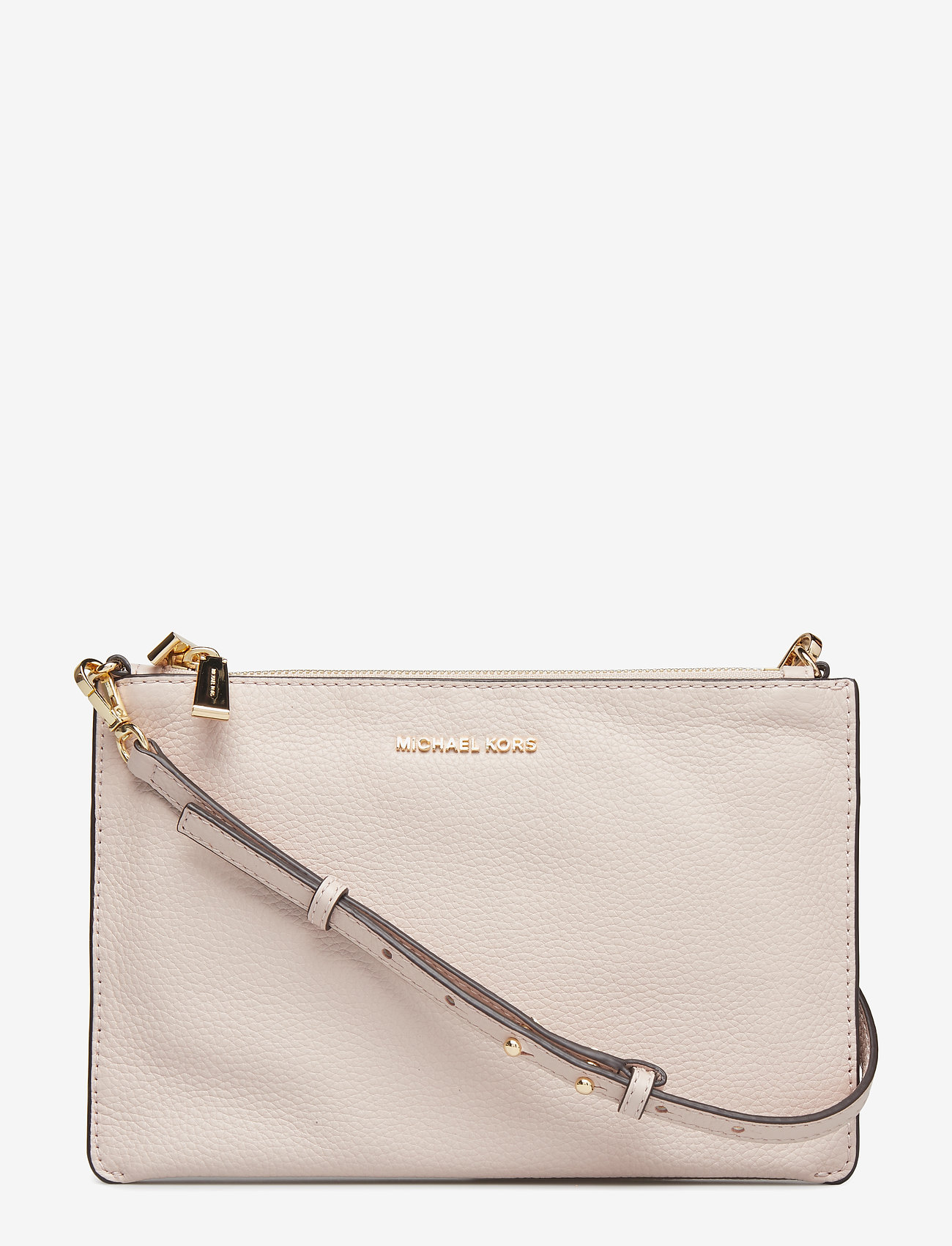 Michael Kors Bags - LG DBL POUCH XBODY - olkalaukut - soft pink
