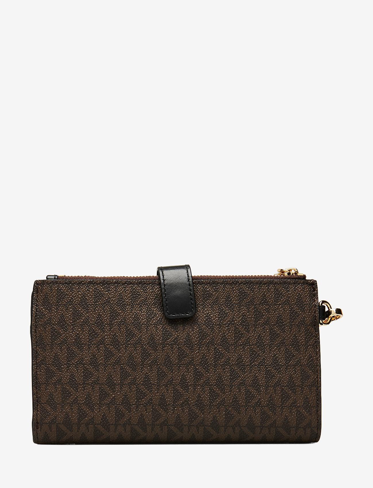 Michael Kors Bags - DBLZP WRISTLET - clutches - brown/blk - 1
