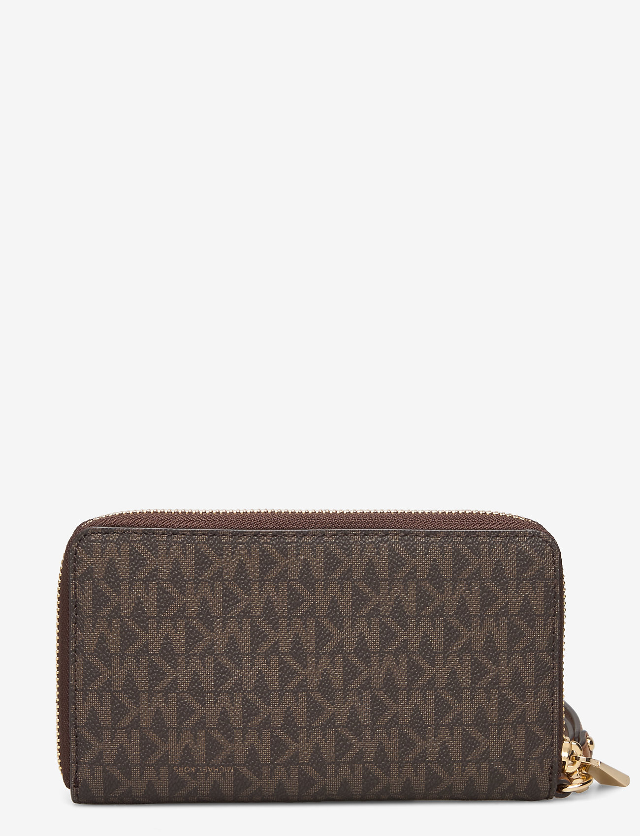 Lg Flat Mf Phn Case (Brown) - Michael Kors Bags 7WOZun