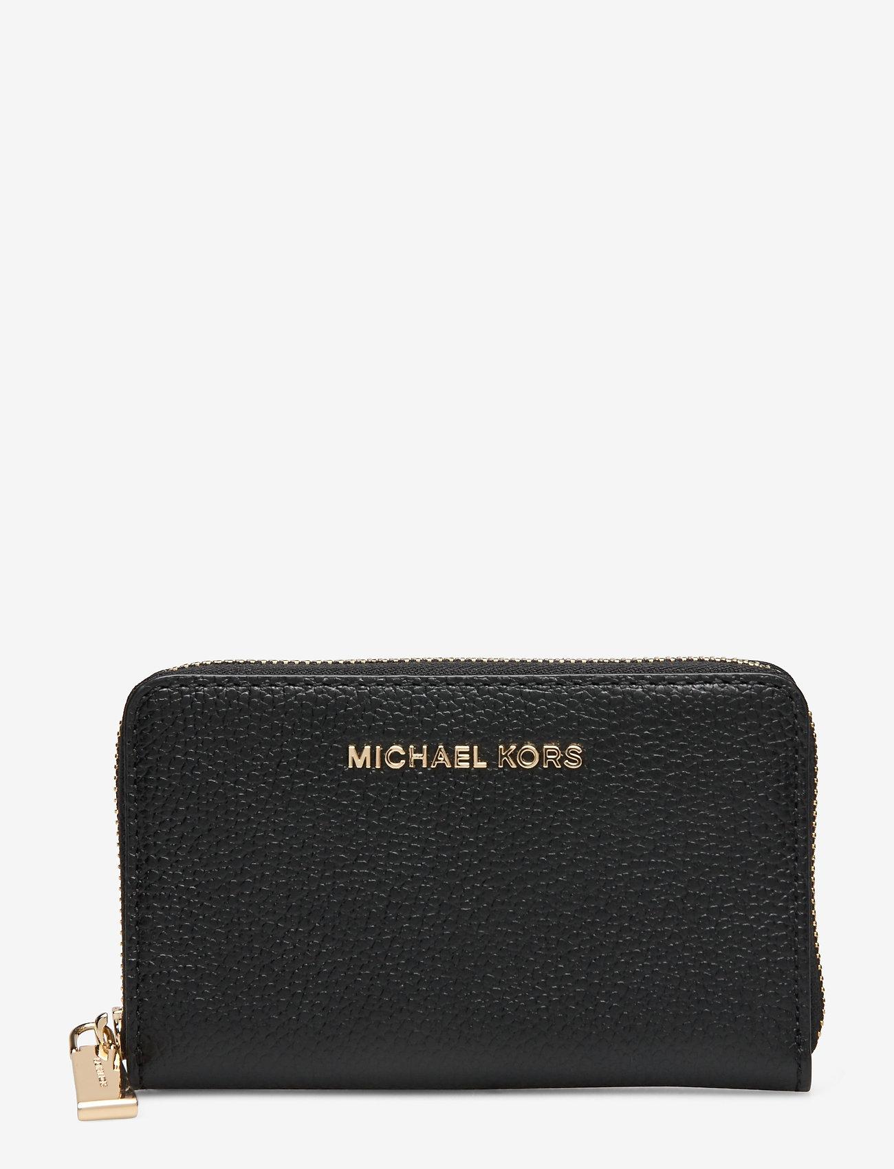 Michael Kors - SM ZA CARD CASE - kaart houders - black - 0