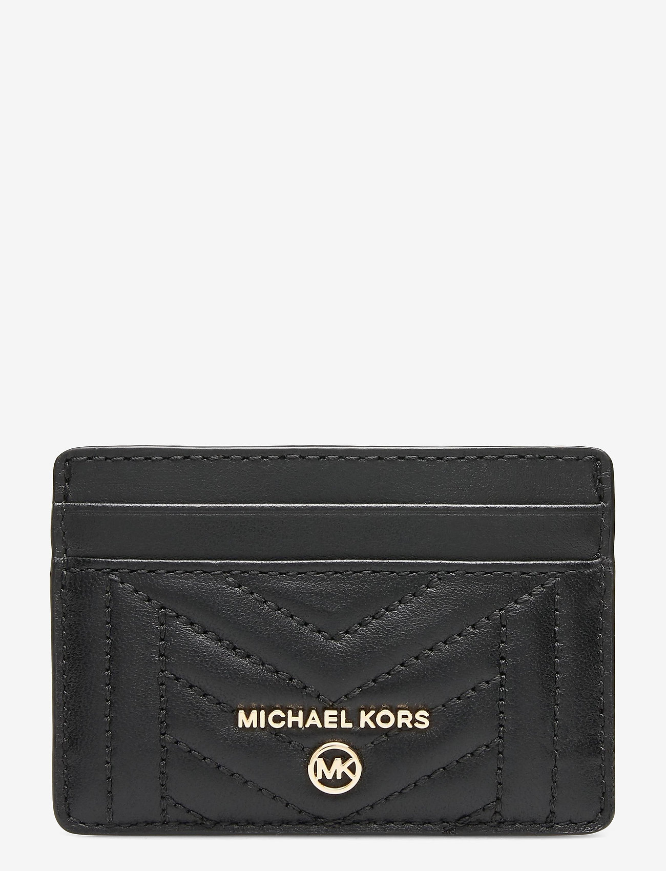 Michael Kors - CARD HOLDER - kaart houders - black - 0