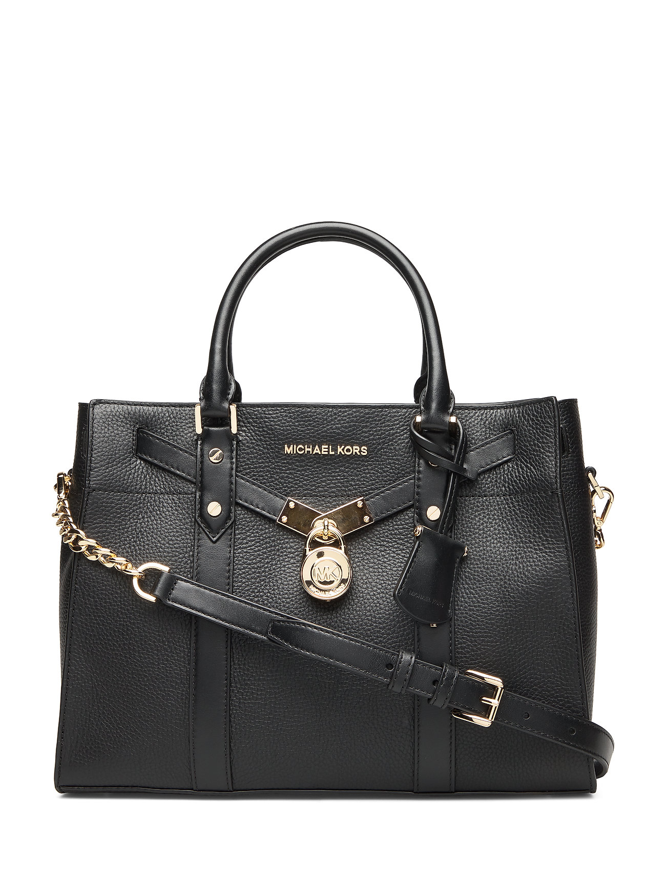 Michael Kors Bags LG SATCHEL - BLACK