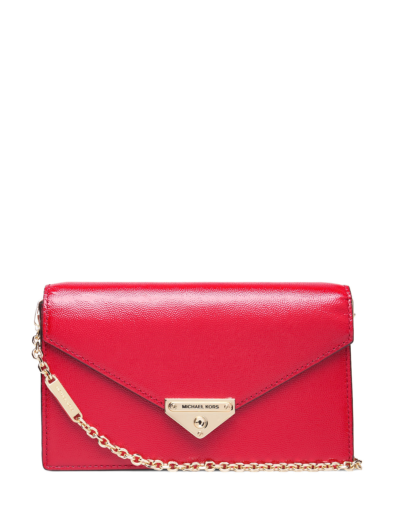 Michael Kors Bags MD ENVELOPE CLUTCH - BRIGHT RED