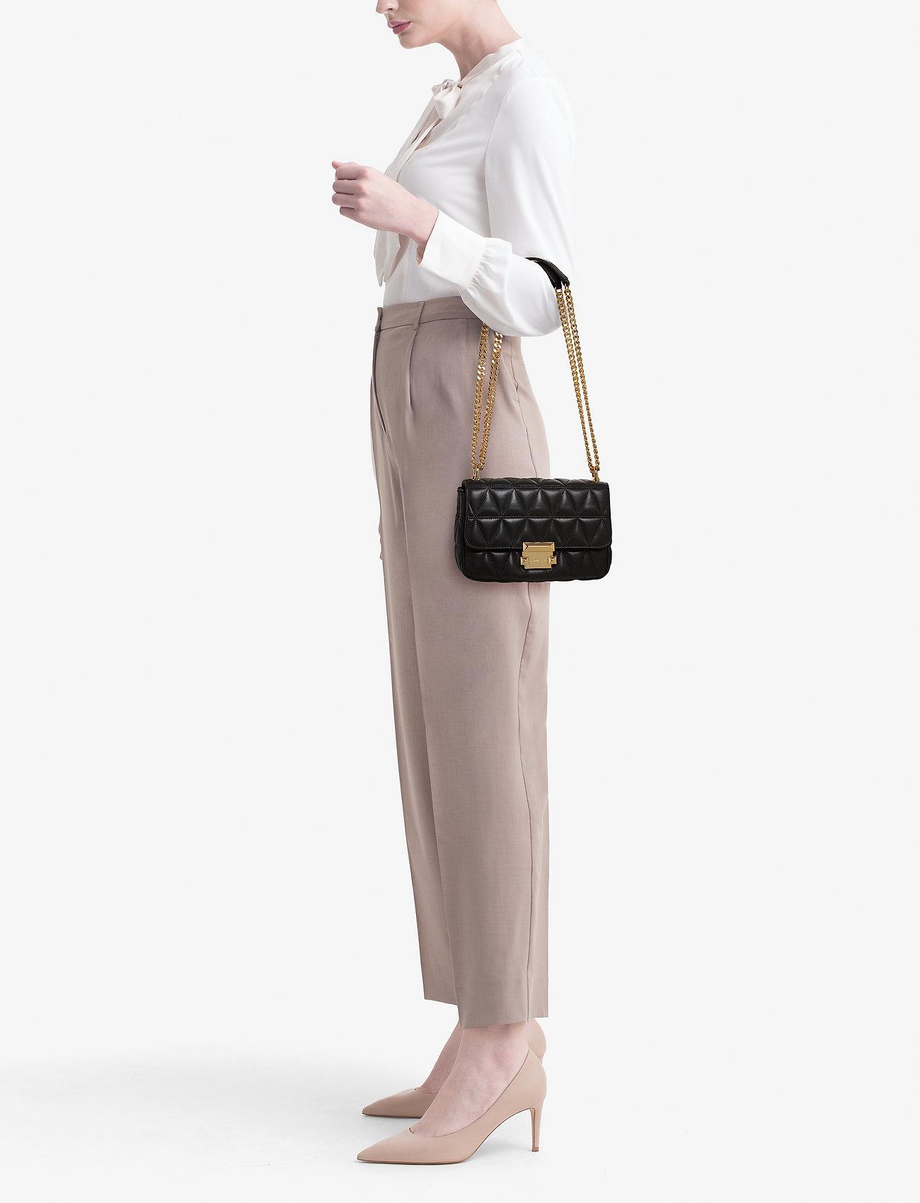 Michael Kors Bags SM CHAIN SHLDR - BLACK