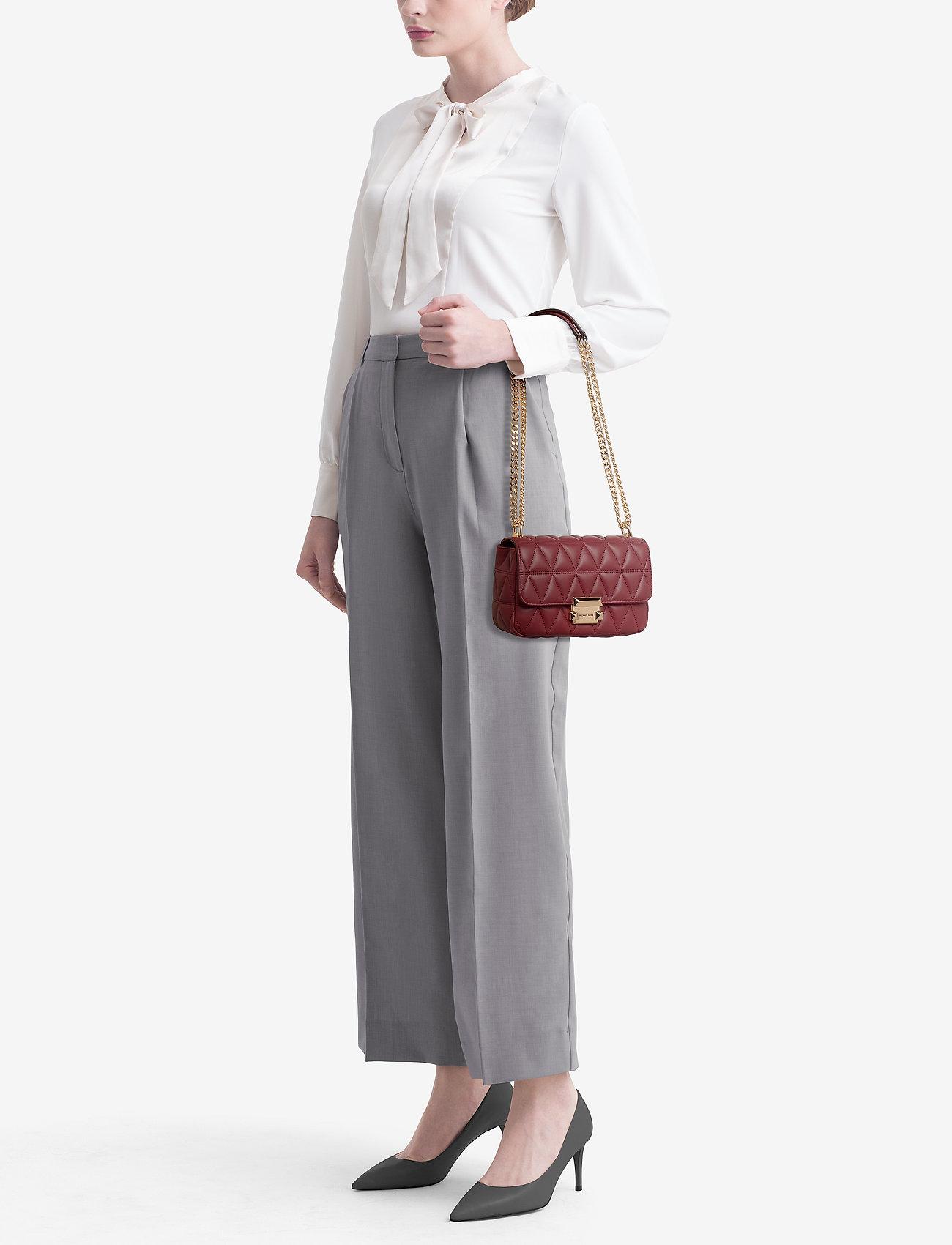 Michael Kors Bags SM CHAIN SHLDR - BRANDY