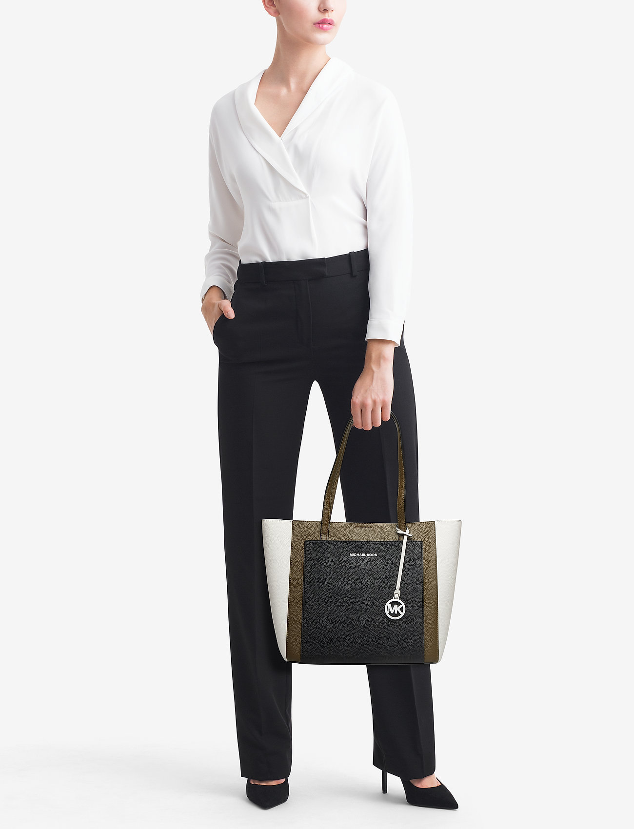 Michael Kors Bags GEMMA LG POCKET TOTE