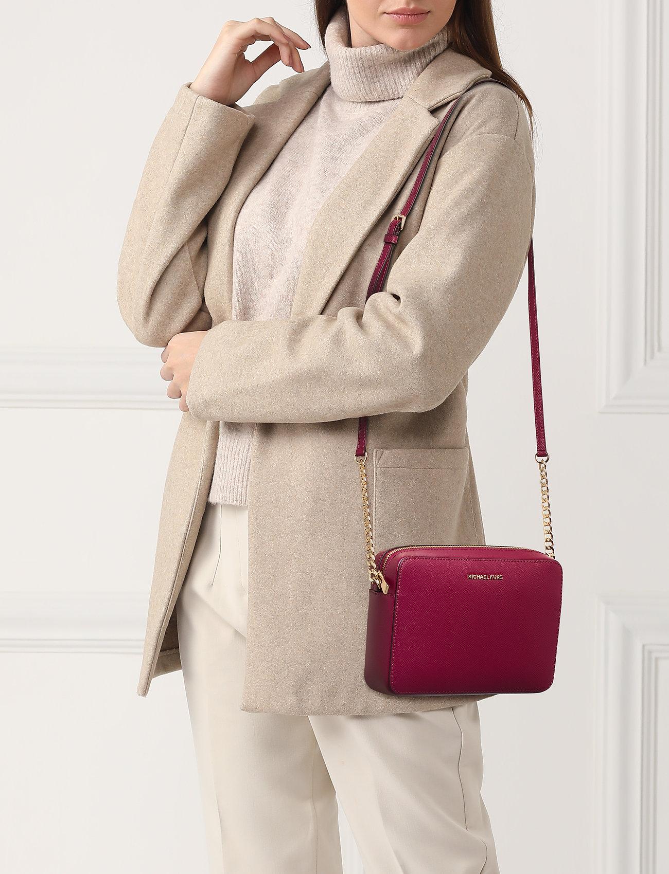 Michael Kors Bags LG EW CROSSBODY - BERRY