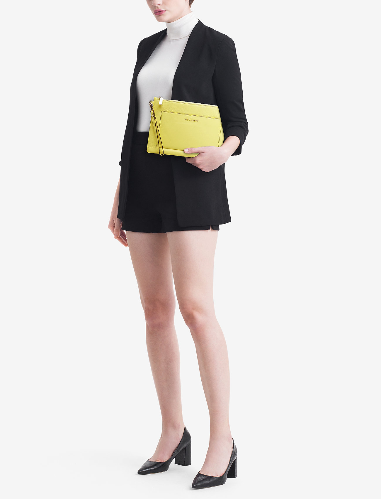 Michael Kors Bags POUCHES & CLUTCHES LG POCKET ZIP POUCH