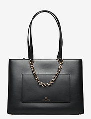 Michael Kors Bags - MD RBN CHN TOTE - fashion shoppers - black - 0