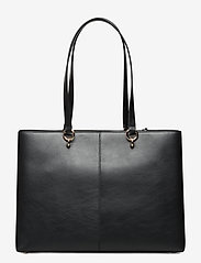 Michael Kors Bags - MD RBN CHN TOTE - fashion shoppers - black - 1