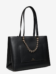 Michael Kors Bags - MD RBN CHN TOTE - fashion shoppers - black - 2