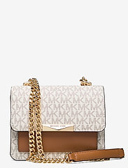Michael Kors Bags - XS GUSSET CROSSBODY - tassen - vanilla/acrn - 0