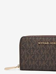 Michael Kors - SM ZA CARD CASE - kaart houders - brn/acorn - 3