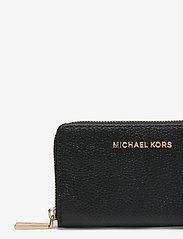 Michael Kors - SM ZA CARD CASE - kaart houders - black - 3