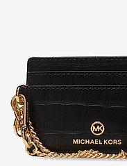 Michael Kors - SM CHAIN ID CRD CASE - kaarthouders - black - 3