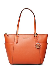 JET SET ITEM EW TZ TOTE - BURNT ORANGE