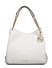 LILLIE LG SHLDR TOTE - OPTIC WHITE