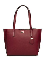 MD EW BONDED TOTE - MAROON