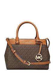 Gibson Sm Satchel Bags Top Handle Bags Brun MICHAEL KORS BAGS