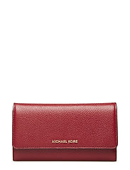 LG TRIFOLD WALLET - MAROON