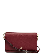 PHONE CROSSBODY - MAROON