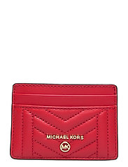 CARD HOLDER - BRIGHT RED