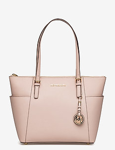 JET SET ITEM EW TZ TOTE - fashion shoppers - soft pink
