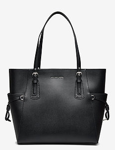 EW TOTE - fashion shoppers - black