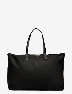 LG PACKABLE TOTE - shoppers - black