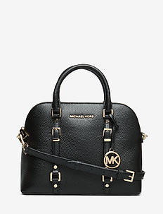 MD DOME SATCHEL - BLACK