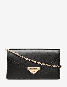 MD ENVELOPE CLUTCH - BLACK