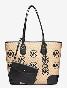 LG TOTE - fashion shoppers - black multi